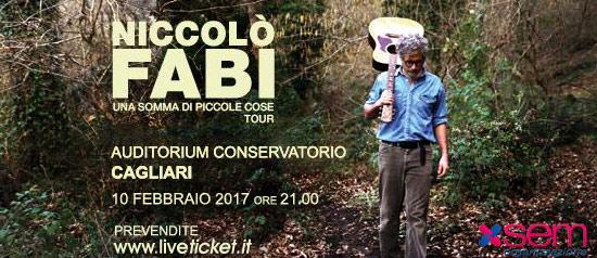 """Niccolò Fabi """"Una somma di piccole cose"""" Tour a Cagliari"""