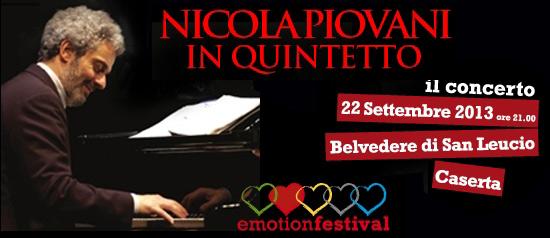 Emotion Festival, Nicola Piovani al Belvedere di San Leucio a Caserta