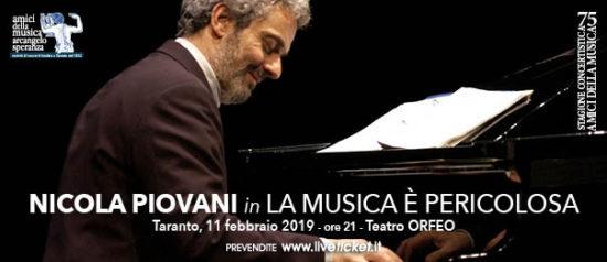 Nicola Piovani - La musica è pericolosa al Teatro Orfeo di Taranto