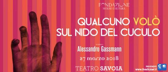 Qualcuno volò sul nido del cuculo al Teatro Savoia di Campobasso
