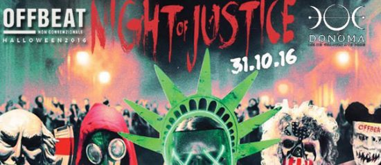 Offbeat - Night of Justice al Donoma di Civitanova Marche