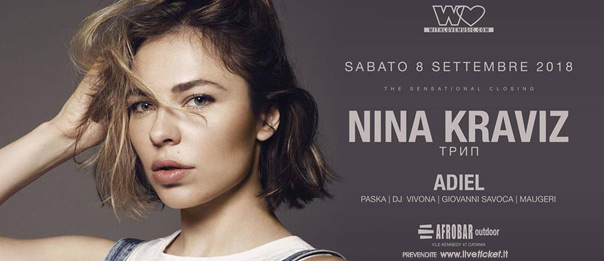 With Love presents: Nina Kraviz at The Sensational Closing all'Afrobar di Catania