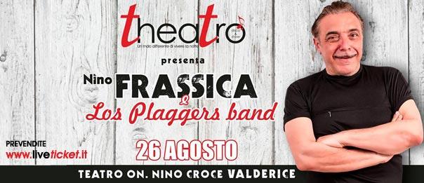 Nino Frassica e Los plaggers Cabaret Show al Teatro On. Nino Croce a Valderice