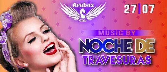 Noche de Travesuras all'Arabax Club di Tortoli