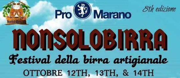 """""""Nonsolobirra"""" Festival della Birra Artigianale agli Impianti Sportivi a Marano Vicentino"""