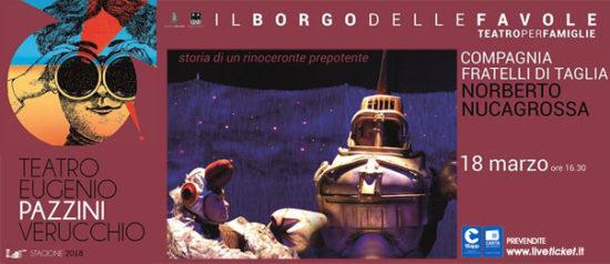 Fratelli di Taglia - Norberto Nucagrossa al Teatro Pazzini di Verucchio