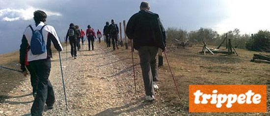 Escursione in nordic walking e degustazione sui Colli Iberici