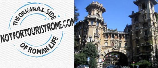 Il quartiere Coppedè tra letteratura e cinema a Roma
