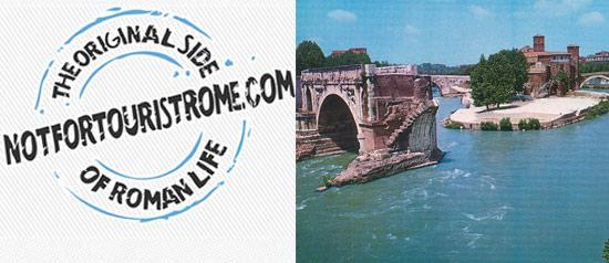 Passeggiando in bicicletta sotto i ponti di Roma