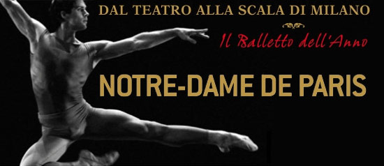 """""""Notre Dame de Paris"""" in diretta dalla Scala, di Milano al Teatro Silvio Pellico di Trecate"""