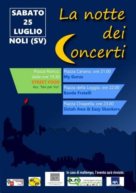 La notte dei Concerti a Noli