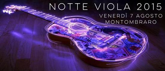 Notte Viola 2015 a Motombraro