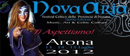 """NovAria 2012"""" Festival Celtico della Provincia di Novara"""