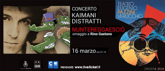 Nuntereggaesciò - Kaimani Distratti al Teatro Pazzini di Verucchio