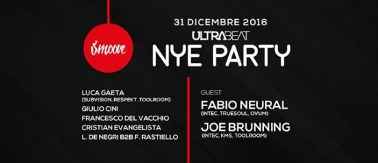 Smoove Present: NYE Party Fabio Neural + Joe Brunning all'Ultra Beat a Monteforte Irpino