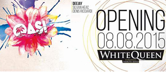 Opening Oasi Beach with White Queen