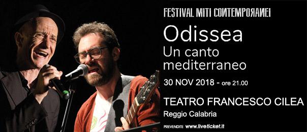Odissea Un canto mediterraneo al Teatro Francesco Cilea di Reggio Calabria