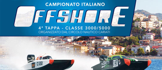 Campionato Italiano di Offshore 2015 a Cariati