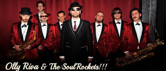 Olly Riva & Soul Rockets a Genova