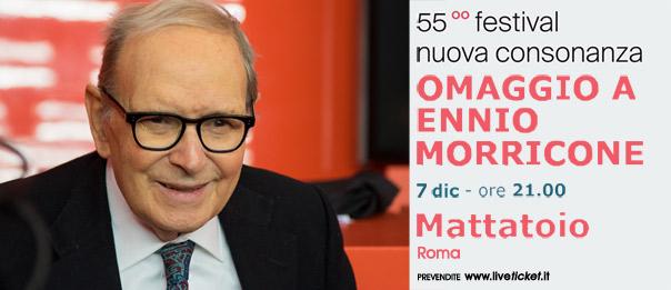 Omaggio a Ennio Morricone al Mattattoio a Roma