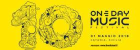 One Day Music Festival 2018 al Lido Azzurro di Catania