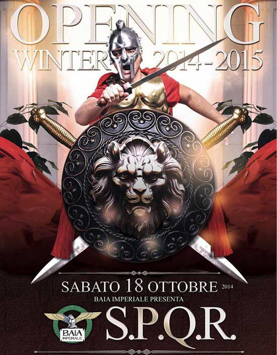 Opening Winter 2014 - 2015 @ Baia Imperiale a Gabicce