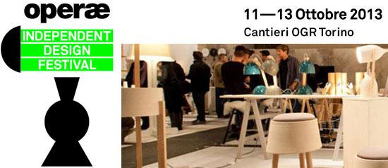 Operae Mostra Mercato del Design Autoprodotto a Torino