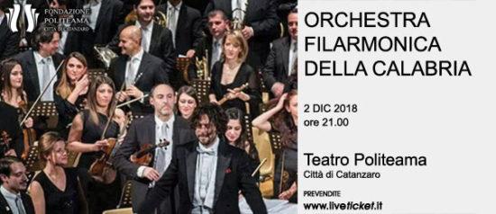 Orchestra Filarmonica della Calabria al Teatro Politeama di Catanzaro