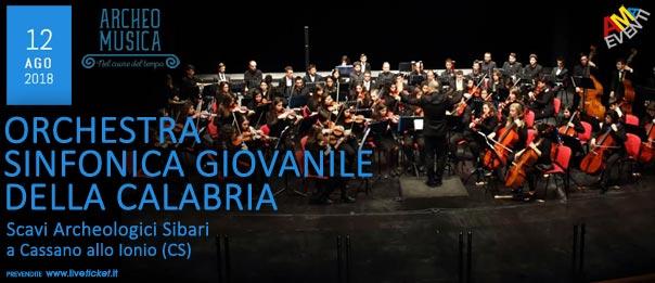 Orchestra Sinfonica Giovanile della Calabria agli Scavi Archeologici Sibari a Cassano allo Ionio