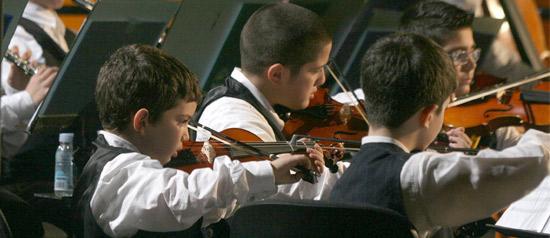 Orchestra Sanitansamble alla Sede BNL di Napoli