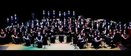 Concerto dell'Orchestra di Fiati dell'Università del Mississippi a Bevagna