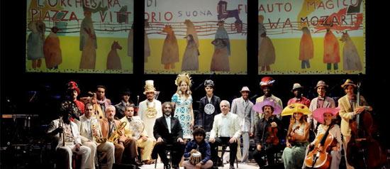 """Orchestra di Piazza Vittorio """"Il flauto magico"""" al Teatro Savoia di Campobasso"""