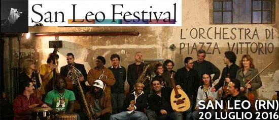 Orchestra di Piazza Vittorio al San Leo Festival 2016