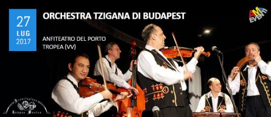 Orchestra Tzigana di Budapest all'Anfiteatro del Porto di Tropea