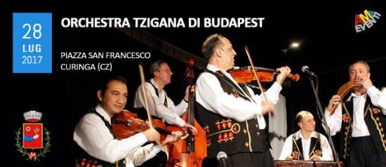 Orchestra Tzigana di Budapest in Piazza San Francesco a Curinga