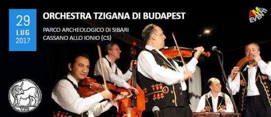 Orchestra Tzigana di Budapest al Parco Archeologico di Sibari