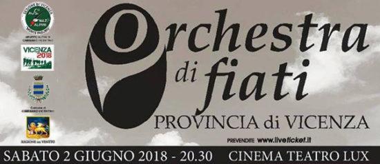 Concerto: Orchestra di fiati Provincia di Vicenza al Teatro Lux di Camisano Vicentino