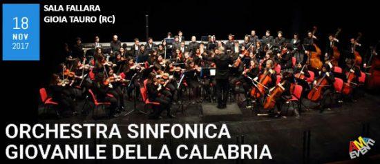 Orchestra sinfonica giovanile della Calabria alla Sala Fallara a Gioia Tauro