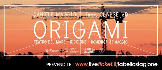 """""""Origami"""" Daniele Maggioni feat Classe VD al Teatro del Mare di Riccione"""