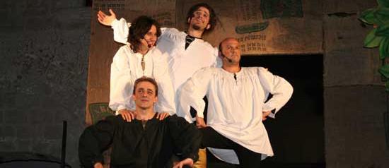 L'Orlando furioso, al Teatro Modugno di Aradeo