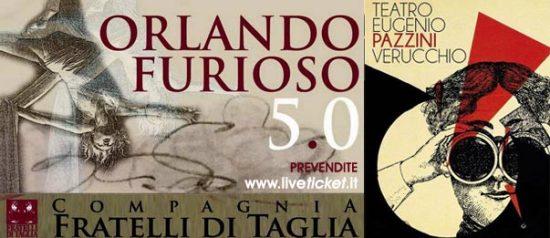 Orlando Furioso 5.0 al Teatro Pazzini di Verucchio