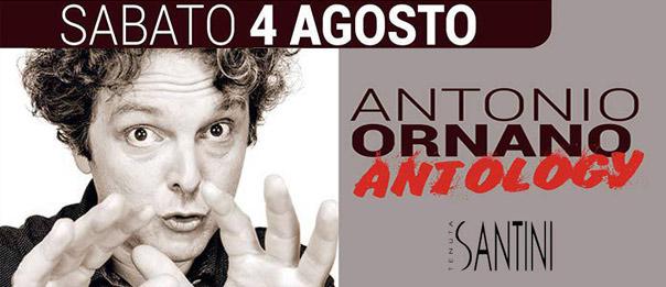 """Antonio Ornano """"Antology"""" alla Tenuta Santini a Passano di Coriano"""