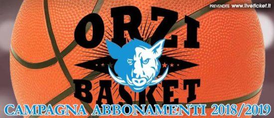 Orzinuovi Basket - Campionato serie B stagione 2018/2019