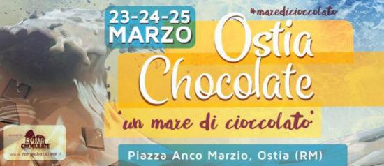 Ostia Chocolate 2018 in Piazza Anco Marzio a Ostia