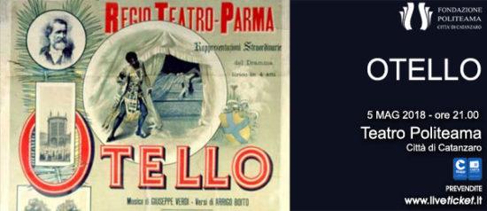 Otello al Teatro Politeama di Catanzaro