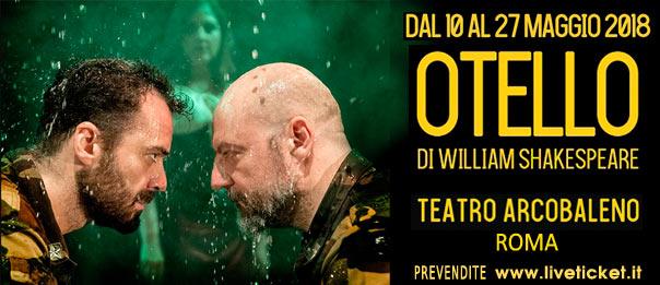 Otello al Teatro Arcobaleno a Roma