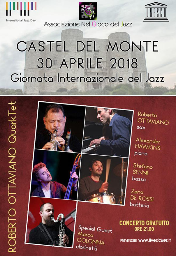 Roberto Ottaviano QuarkTet al Castel del Monte a Andria