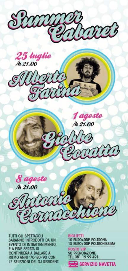 Summer Cabaret al Outline Club di Lecce