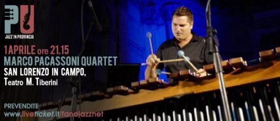 Jazz'in provincia: Marco Pacassoni Quartet al Teatro Tiberini di San Lorenzo in Campo