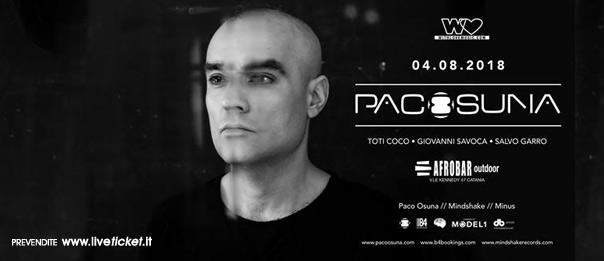 With Love presents: Paco Osuna all'Afrobar di Catania